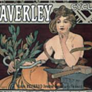 Waverley Cycles - Paris 1898 Art Print