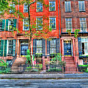 Waverly Place Townhomes Art Print