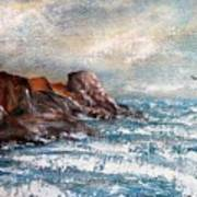 Waves 1 Art Print