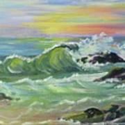 Waves Art Print by Saga Sabin