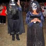 Waving Ghoul Cinematographer Halloween Casa Grande Arizona 2004 Art Print