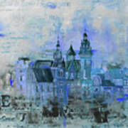 Wawell Castle, Poland Art Print