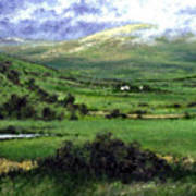 Way To Ardara Ireland Art Print