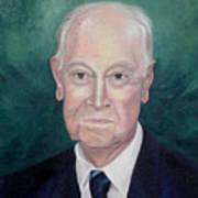 Wc Brown Commsioned Portrait Art Print