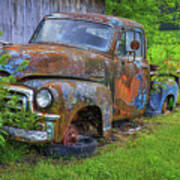 Wears Valley 1954 Gmc Wears Valley Tennessee Art Art Print