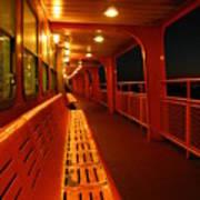 Weather Deck Starboard Side Night Art Print