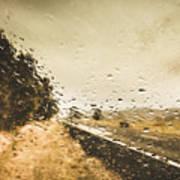 Weather Roads Art Print