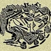 Weathered Bedu  Art Print