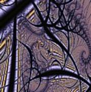 Weave Interrupted Art Print