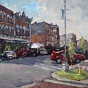 Webster Street North Tonawanda Art Print