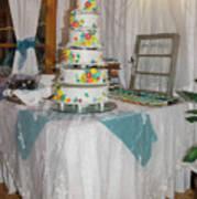 Wedding Cake Art Print