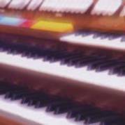 Wedding Chapel Organ Art Print