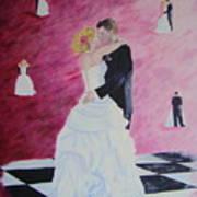 Wedding Dance Art Print