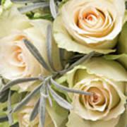 Wedding Flowers Art Print by Wim Lanclus