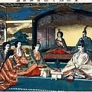 Wedding Of Crown Prince Yoshihito And Princess Kujo Sadako, 1900 Art Print