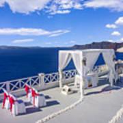 Wedding On The Greek Isles Art Print