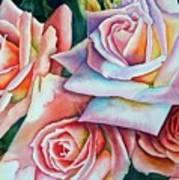 Wedding Roses Art Print