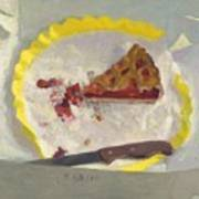 Wedge Of Cake Art Print