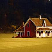 Wee House Art Print
