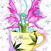 Weed Fairy Naptime Art Print