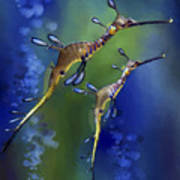 Weedy Sea Dragon Art Print