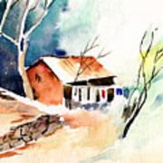 Weekend House Art Print