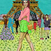 Weekend In Paris Art Print