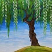 Weeping Willows Art Print