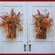 Welcome Doors Art Print