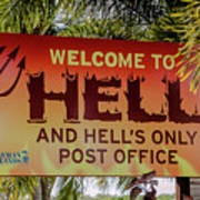Welcome To Hell Art Print