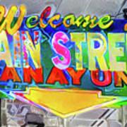Welcome To Main Street Manayunk - Philadelphia Art Print