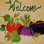 Welcome To My Kitchen Art Print by Alanna Hug-McAnnally