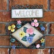 Welcome To Our Home Art Print