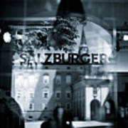 Welcome To Salzburg Art Print by Dave Bowman