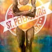 Welcome To St. Petersburg Art Print
