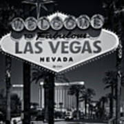 Welcome To Vegas Xi Art Print