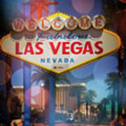 Welcome To Vegas Xii Art Print