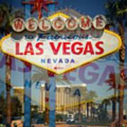 Welcome To Vegas Xiii Art Print