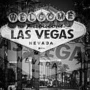 Welcome To Vegas Xiv Art Print