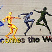 Welcomes The World Mural Art Print