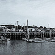 Wellfleet Harbor Art Print