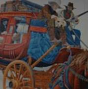 Wells Fargo Stagecoach Art Print