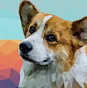 Welsh Corgi Art Print