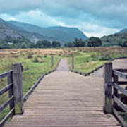 Welsh Landscape Art Print