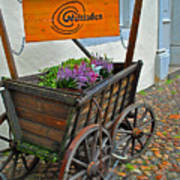 Weltladen Cart Art Print
