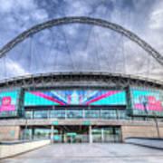 Wembley Stadium Wembley Way Art Print