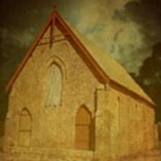 Wesley Church, Greenough, Western Australia Art Print