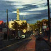 West Brighton - October Art Print