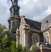 West Church Westerkerk Art Print