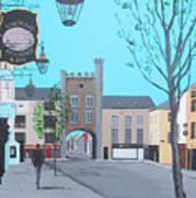 West Gate, Clonmel Art Print